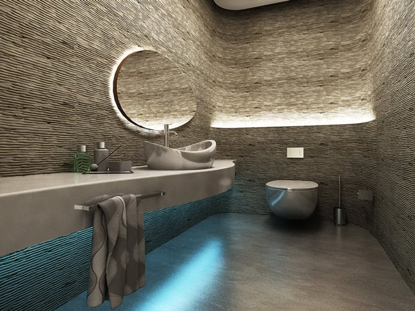 dramatic bathroom design photos 2