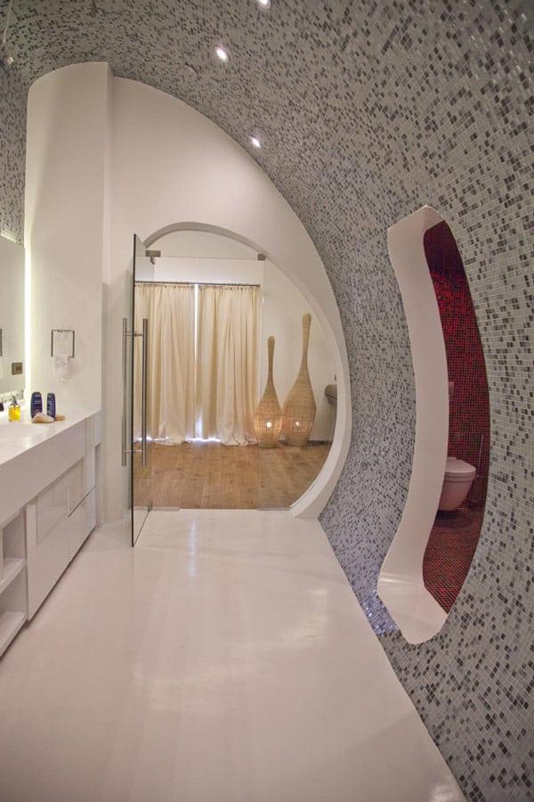 dramatic bathroom design photos 3