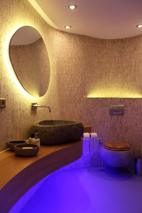 dramatic bathroom design photos 4