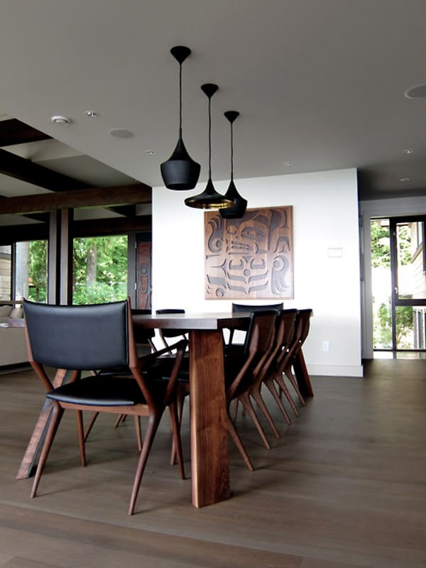 dramatic dining room design 3