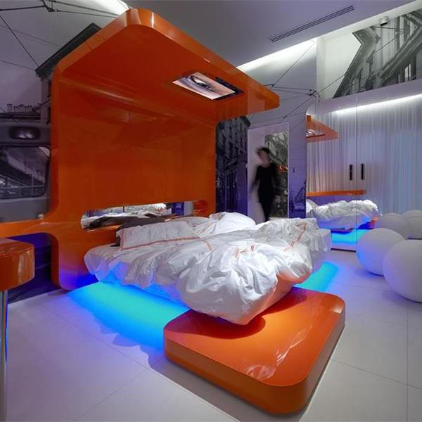 dramatic lighting bedroom interiors 1