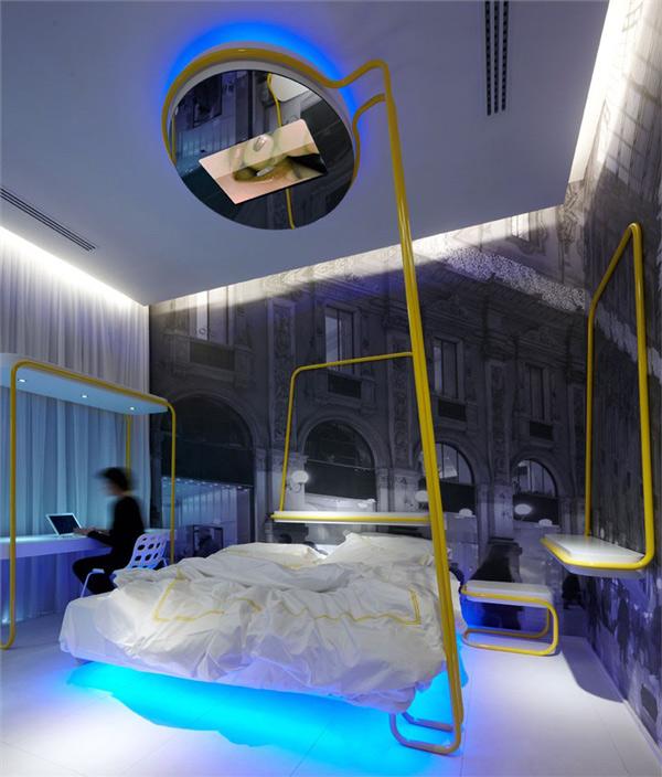 dramatic lighting bedroom interiors 3