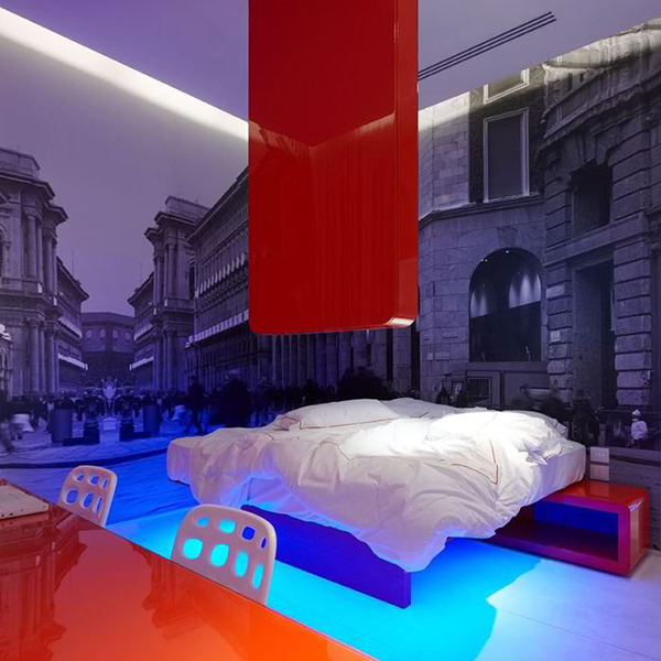 dramatic lighting bedroom interiors 4