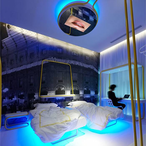dramatic lighting bedroom interiors 8 Dramatic Bedroom Designs by Simone Micheli