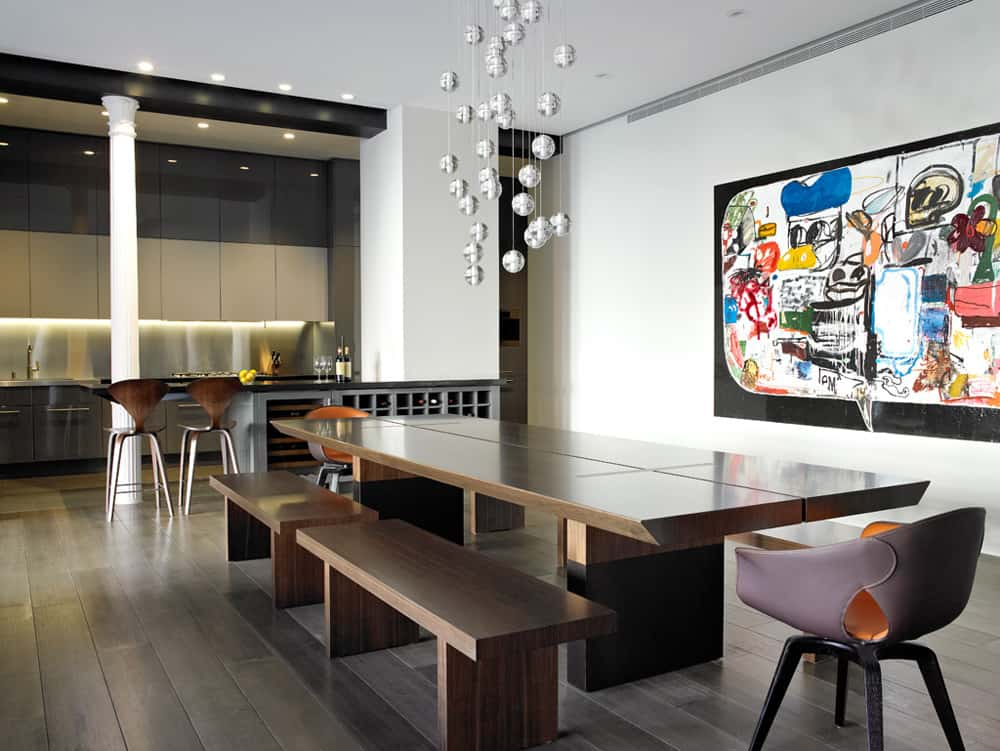 View in gallery eclectic-ny-loft-combines-classical-columns-and-concrete-