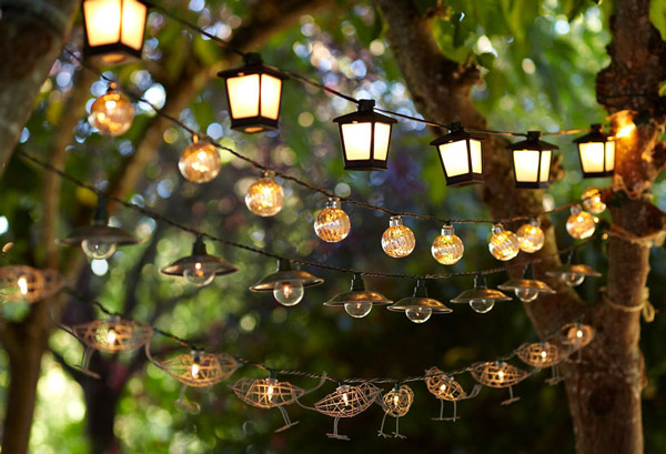 Outdoor Lighting Ideas By Pottery Barn