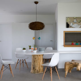 Eclectic Seaside House Design