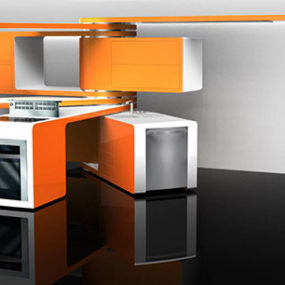 Kitchen Design – 2008 Electrolux ICON and Interior Design Magazine Competition
