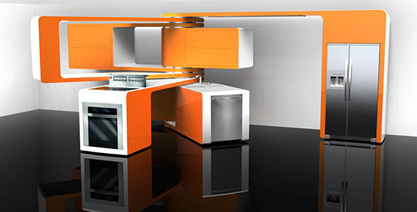 Kitchen Design 2008 Electrolux ICON And Interior Magazine Competition