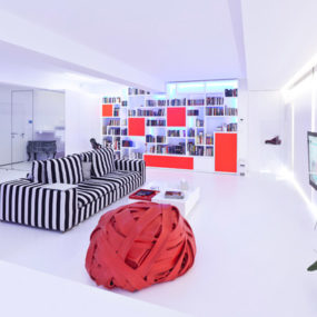 Ultra Modern Apartment Design by aastudio