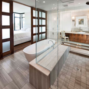 Ensuite Bathroom Design by VOK Design Group