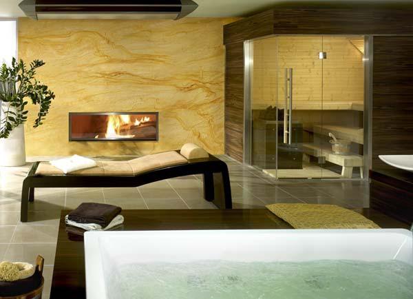 european bathroom finnish sauna 3