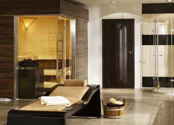 Good European Bathroom Finnish Sauna 4