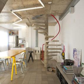 Exposed Concrete Interior Design in Sao Paulo