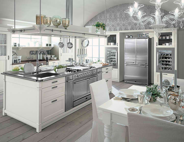 Beau Farmhouse Style Kitchen Interior By Minacciolo U2013 English Mood