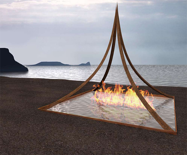 fire features inspirations elena colombo 1 Meditation Space   Fire Features Design Inspirations by Elena Colombo