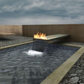 Meditation Space – Fire Features Design Inspirations by Elena Colombo