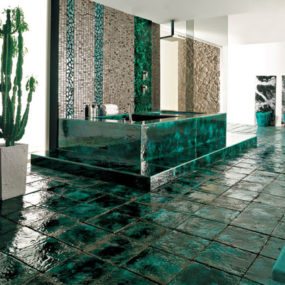 Gorgeous Ceramic Tiles by Franco Pecchioli Green Vibrations collection