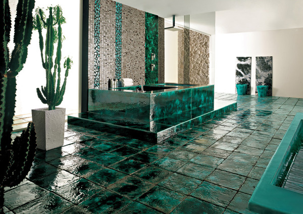 Ceramic Bathroom Tile Ideas Designs Inspiration Images From - Cool bathroom tile ideas