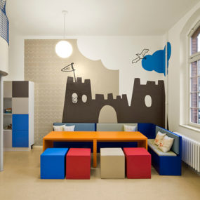 Fun Kids Room Designs by Dan Pearlman