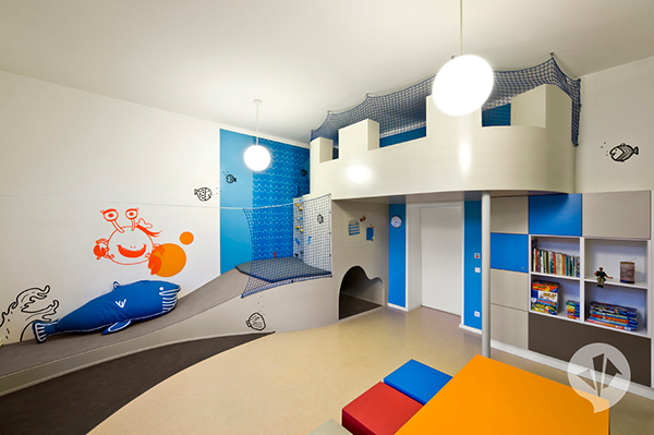 fun kids room designs dan pearlman 2 Fun Kids Room Designs by Dan Pearlman