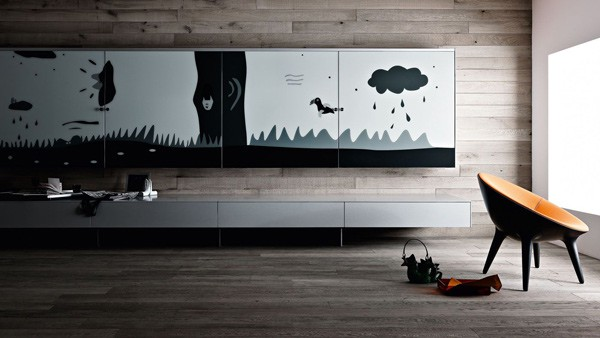 functional living room furniture valcucine 3