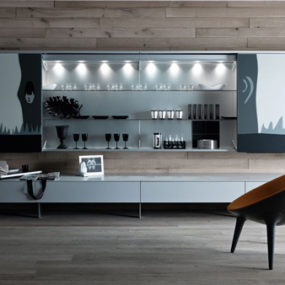 11 functional living room furniture by valcucine