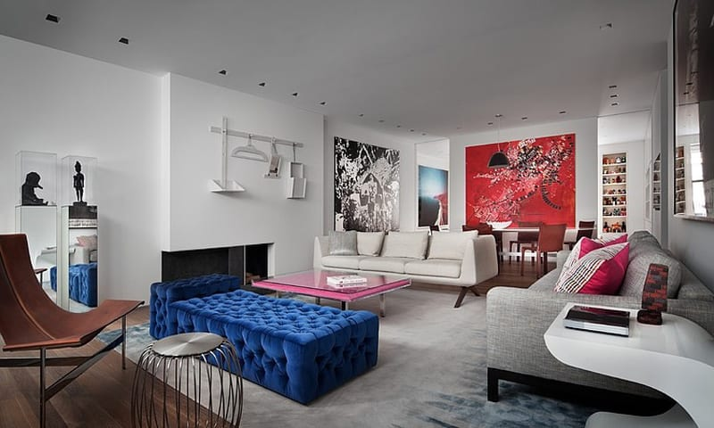 Gallery Inspired NY Apartment With Artistic And Fun Flair