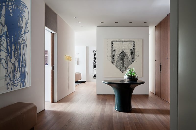 View in gallery gallery inspired ny apartment with artistic and fun