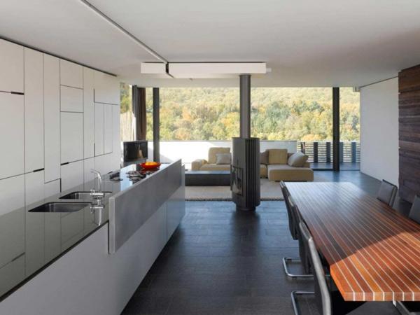 Modern Geometric Interiors by Alexander Brenner Architects