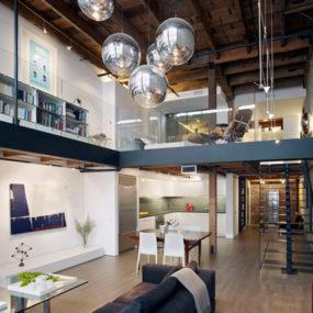 Beautiful Loft Interior Design in San Francisco