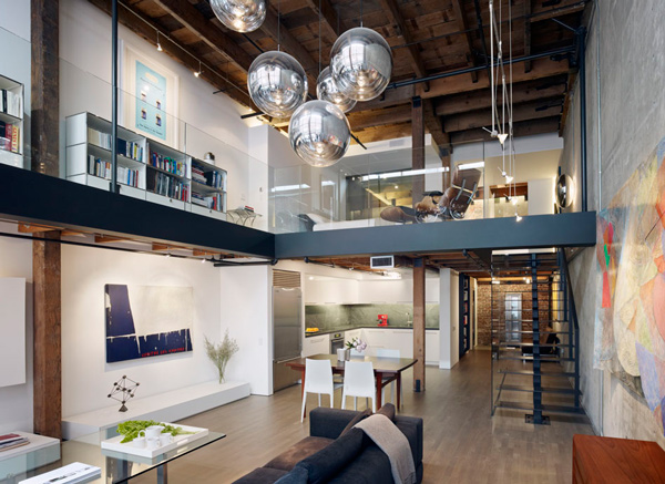 glorious san francisco loft 1 Beautiful Loft Interior Design in San Francisco