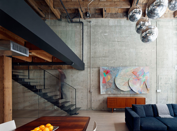 glorious san francisco loft 2 Beautiful Loft Interior Design in San Francisco
