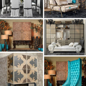 Gorgeous Interiors by Collection Alexandra – new for 2011