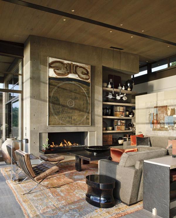 Decorating Ideas for Interior Concrete Walls