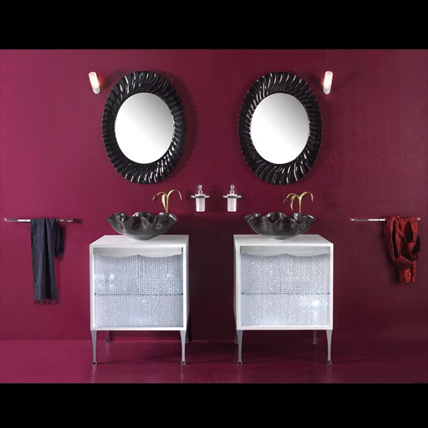 housedesign bathroom traccia black Bathroom Design Idea from Italy House Design   its all about accessories!
