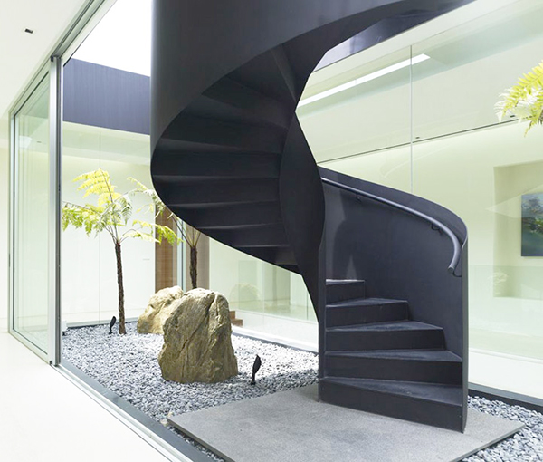 impressive interior staircase idea 1 Impressive Interior Staircase Idea