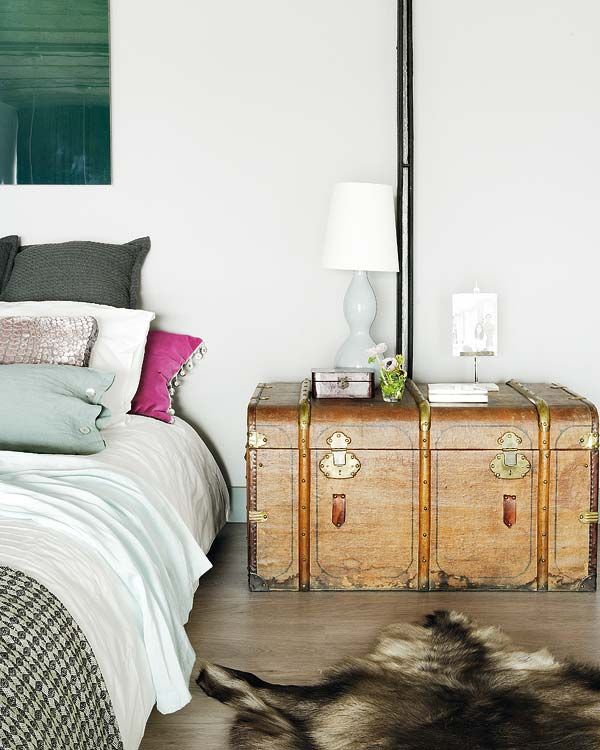 Industrial Romance Eclectic Bedroom Interior 3