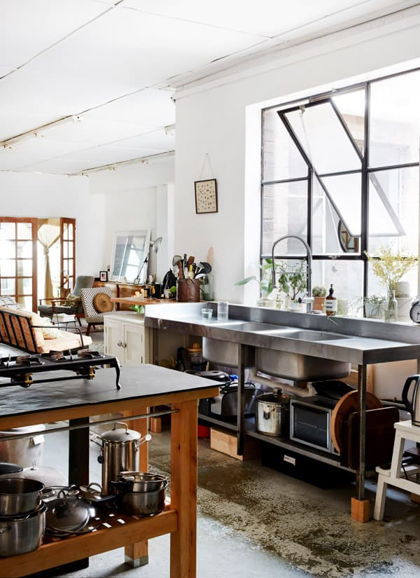 Beau Sydney Industrial Kitchen
