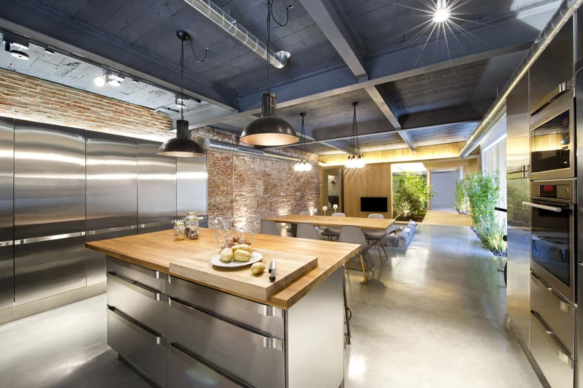Comercial Kitchen Design industrial style kitchen design ideas (marvelous images)