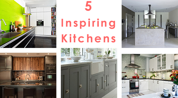 Inspiring Kitchen Interiors: 5 impact designs