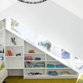 Interior Bookcase Design: a Modern Focal Feature