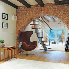 Interior Brick Feature Wall