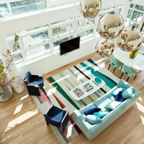 Interior Decorating with Rugs by Novogratz – the Family rug