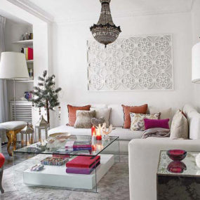 Cozy Glamour Interior Design