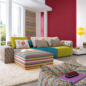 5 Interior Design Inspiration From Linea Italia U2013 Infinite Living Room  Design Ideas With Kube!