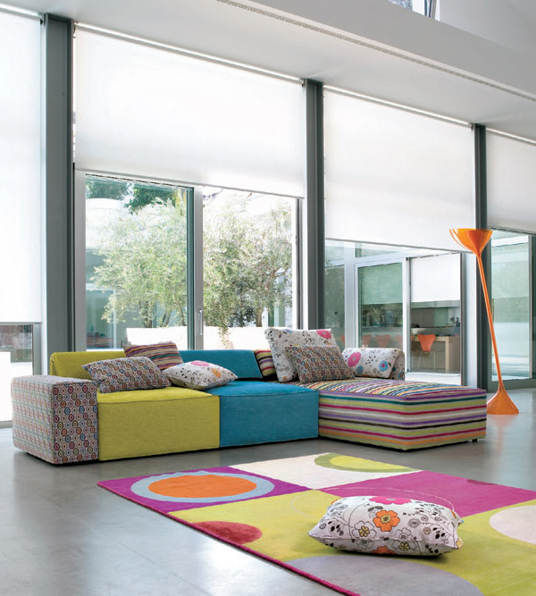 Interior Design Inspiration from Linea Italia - infinite living room ...