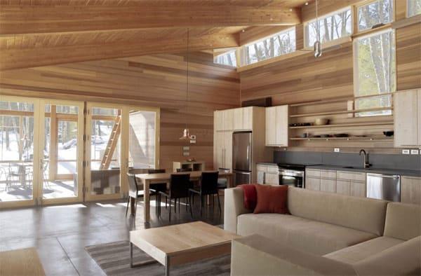 interior design wood 2 Interior Design with Wood