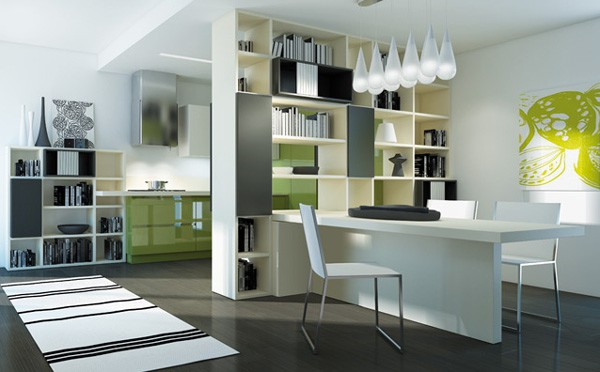 italian transformable furniture kitchen 3