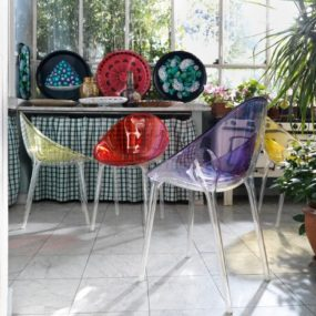 Modern Interior Inspirations from Kartell – a colorful transformation